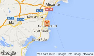 Mappa Alicante Appartamento 75868