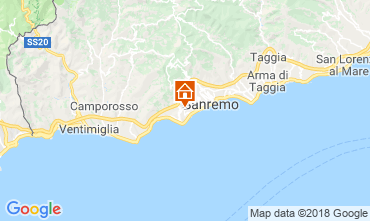 Mappa Sanremo Monolocale 105623
