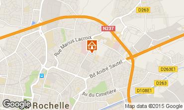Mappa La Rochelle Appartamento 7095