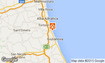 Mappa Giulianova Appartamento 23634