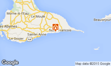 Mappa Saint Francois Appartamento 90989
