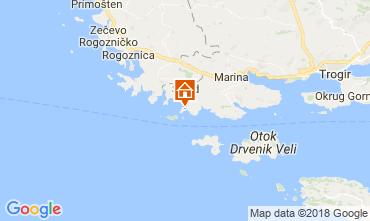 Mappa Traù (Trogir) Casa 114372