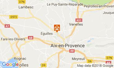 Mappa Aix en Provence Appartamento 115648
