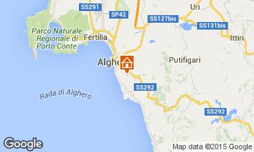 Mappa Alghero Appartamento 74939