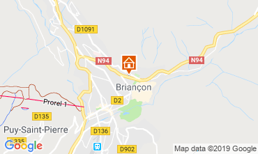 Mappa Briançon Casa 119306