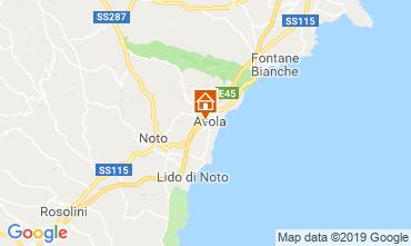 Mappa Avola Appartamento 87482