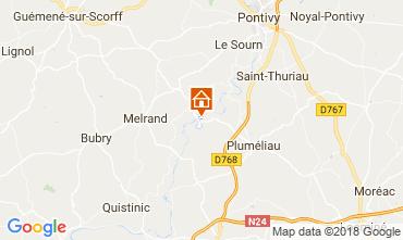 Mappa Baud Villa  115829
