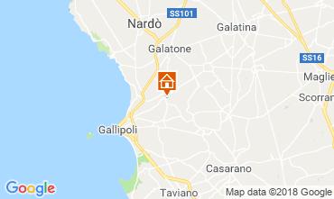 Mappa Gallipoli Appartamento 116392
