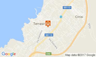 Mappa Terrasini Appartamento 105923