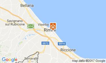 Mappa Rimini Appartamento 110826