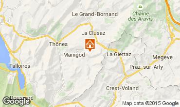 Mappa La Clusaz Monolocale 26919