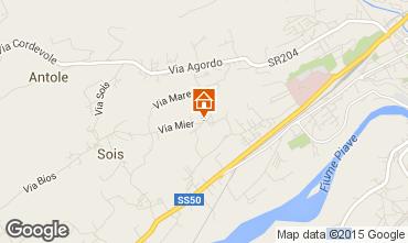 Mappa Belluno Appartamento 66792