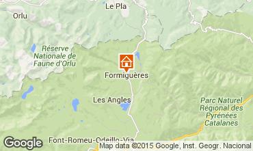 Mappa Formiguères Casa 4019