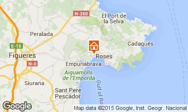 Mappa Rosas Appartamento 8306
