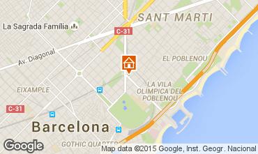 Mappa Barcellona Appartamento 83958