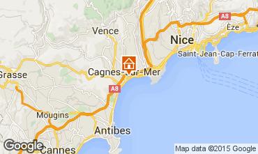 Mappa Cagnes sur Mer Monolocale 88013