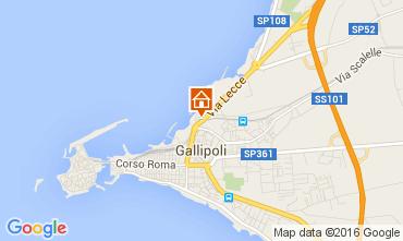 Mappa Gallipoli Appartamento 106087