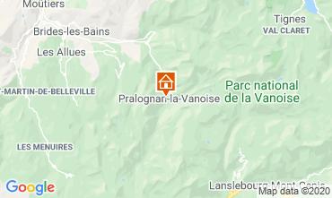 Mappa Pralognan la Vanoise Appartamento 2284