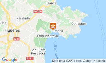 Mappa Rosas Appartamento 105098