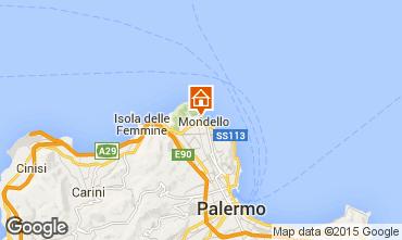 Mappa Mondello Appartamento 54700