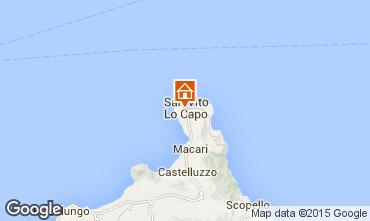 Mappa San Vito lo Capo Appartamento 89479