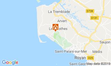 Mappa La Palmyre Casa mobile 59404