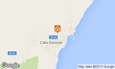 Mappa Cala Gonone Appartamento 38548