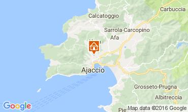 Mappa Ajaccio Appartamento 80878