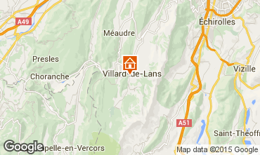 Mappa Villard de Lans - Corrençon en Vercors Appartamento 57741