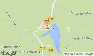 Mappa Puyvalador Casa 4886