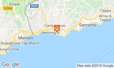 Mappa Vallecrosia Appartamento 117780