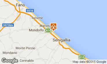 Mappa Senigallia Monolocale 77936