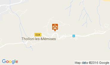 Mappa Thollon Les Mémises Appartamento 106600