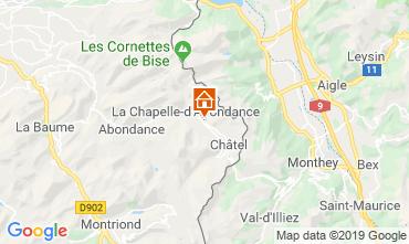 Mappa Ch�tel Chalet 16141