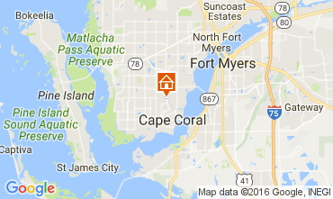 Mappa Cape Coral Villa  106569