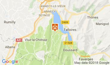 Mappa Annecy Appartamento 114387
