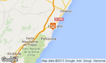 Mappa Peñíscola Monolocale 54461