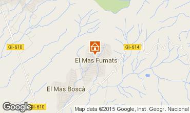 Mappa Rosas Casa 96414