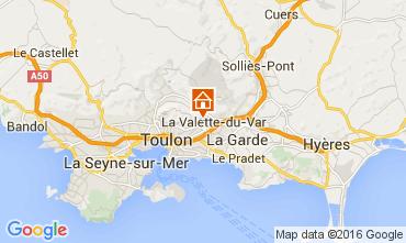 Mappa Tolone Casa 104226