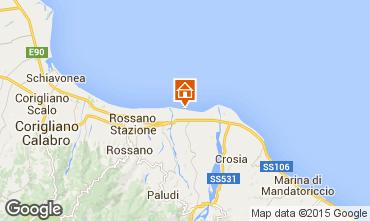 Mappa Rossano Villa  80657