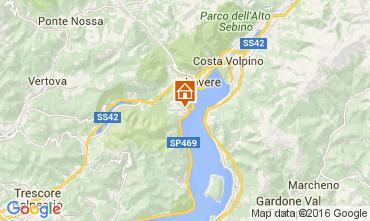 Mappa Riva di Solto Appartamento 104903