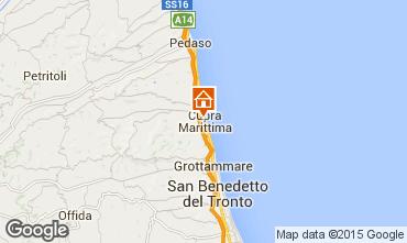 Mappa Cupra Marittima Appartamento 14674