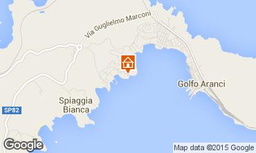 Mappa Golfo Aranci Appartamento 74915