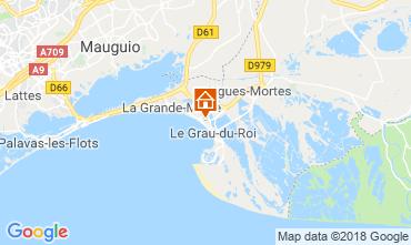Mappa Le Grau du Roi Appartamento 111460