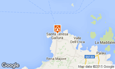 Mappa Santa Teresa di Gallura Appartamento 75743
