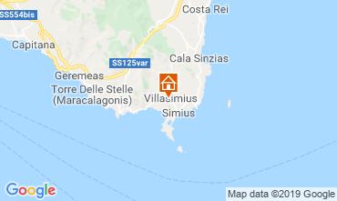 Mappa Villasimius Appartamento 83836