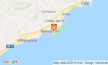 Mappa Benidorm Appartamento 119978