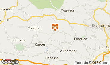 Mappa Cotignac Casa 78845