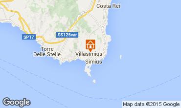 Mappa Villasimius Appartamento 93145