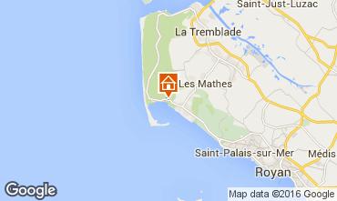 Mappa La Palmyre Casa mobile 102033
